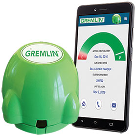 Gremlin tank monitor and iphone app